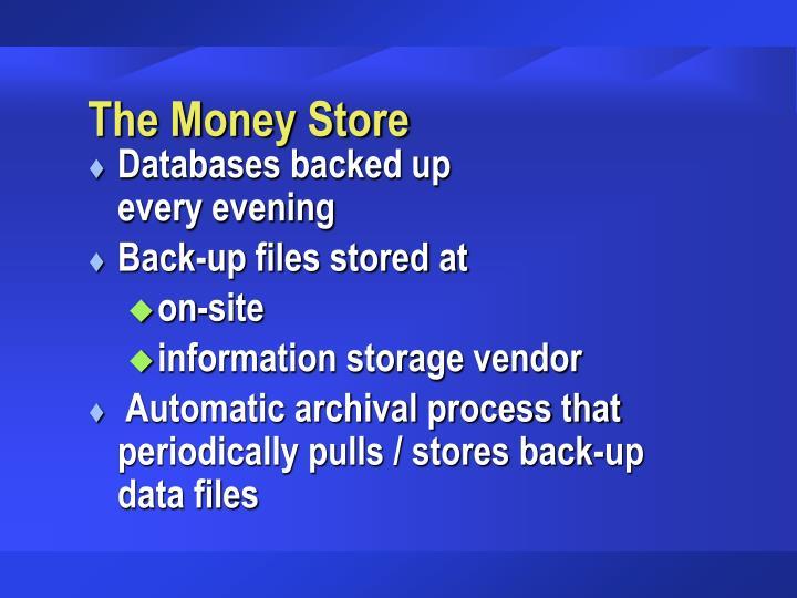 The Money Store