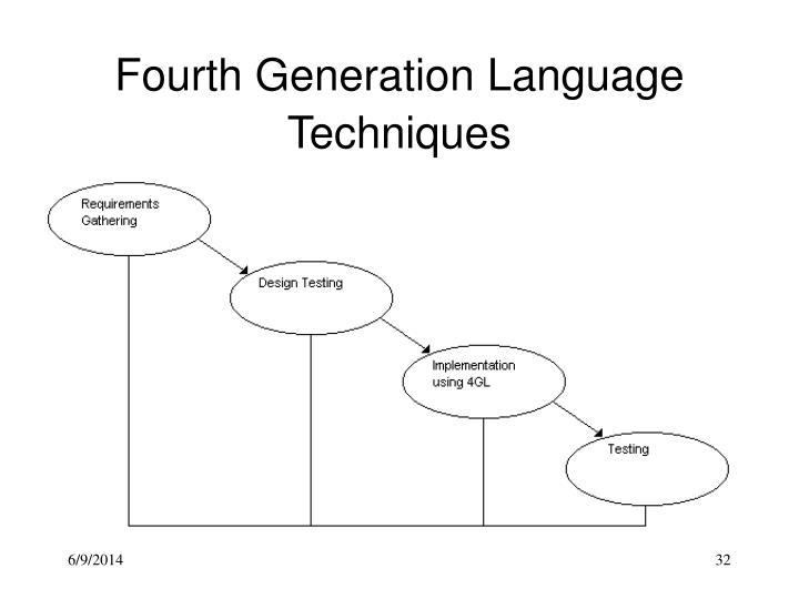 Fourth Generation Language Techniques