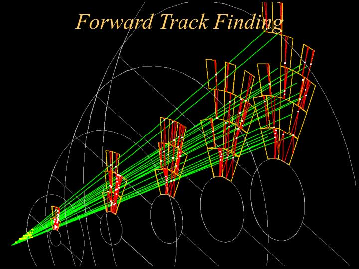 Forward Track Finding