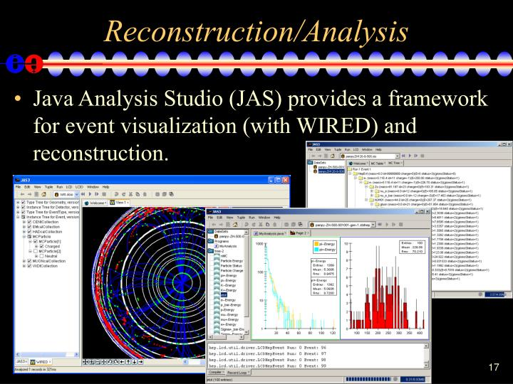 Reconstruction/Analysis