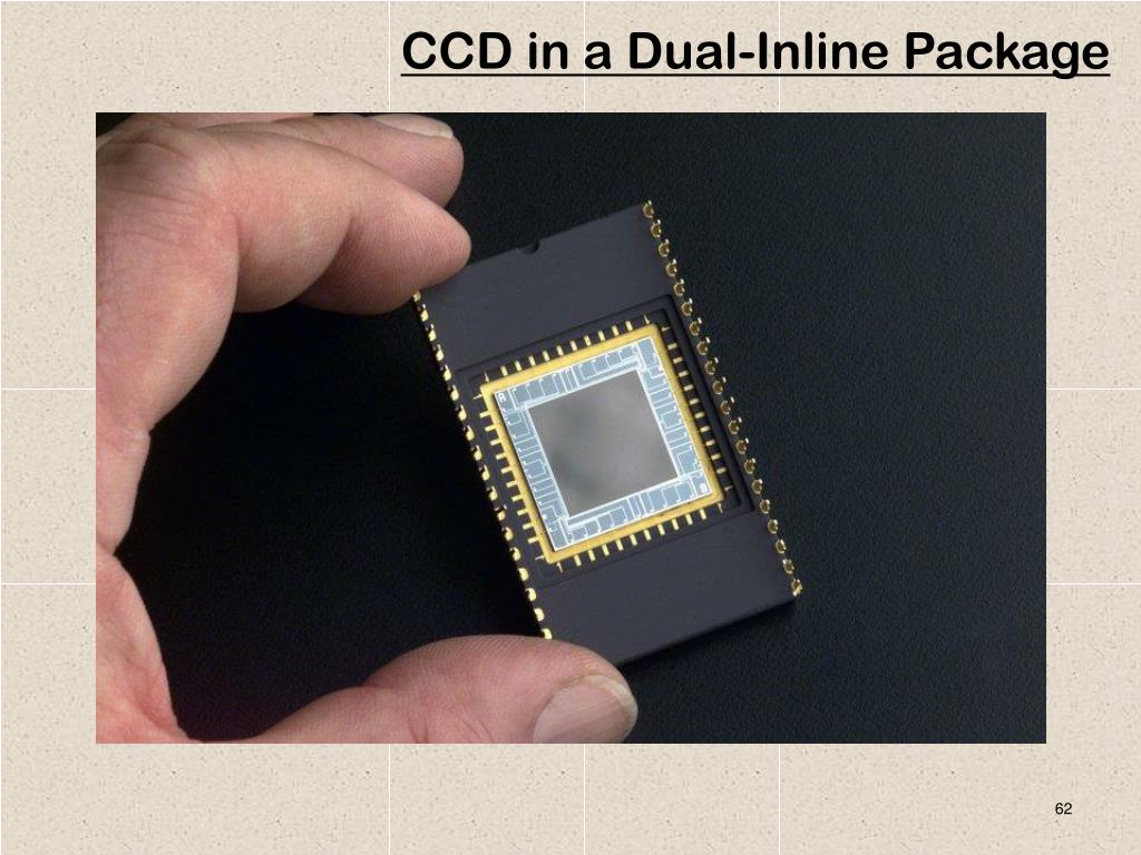 CCD in a Dual-Inline Package
