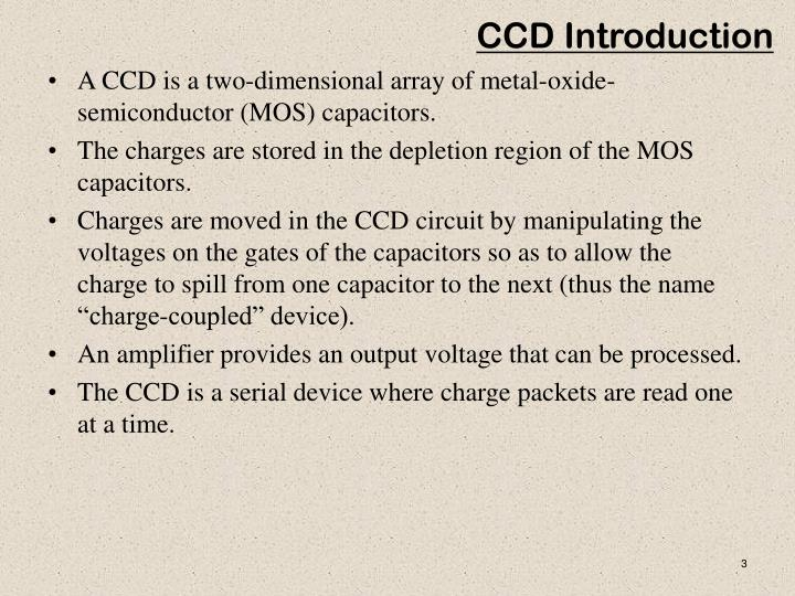 Ccd introduction