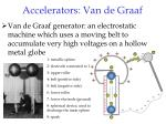 accelerators van de graaf