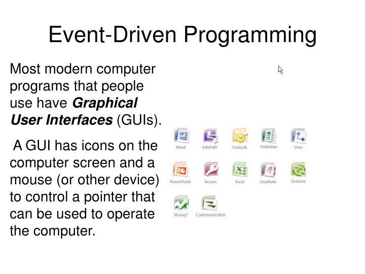Event driven programming2