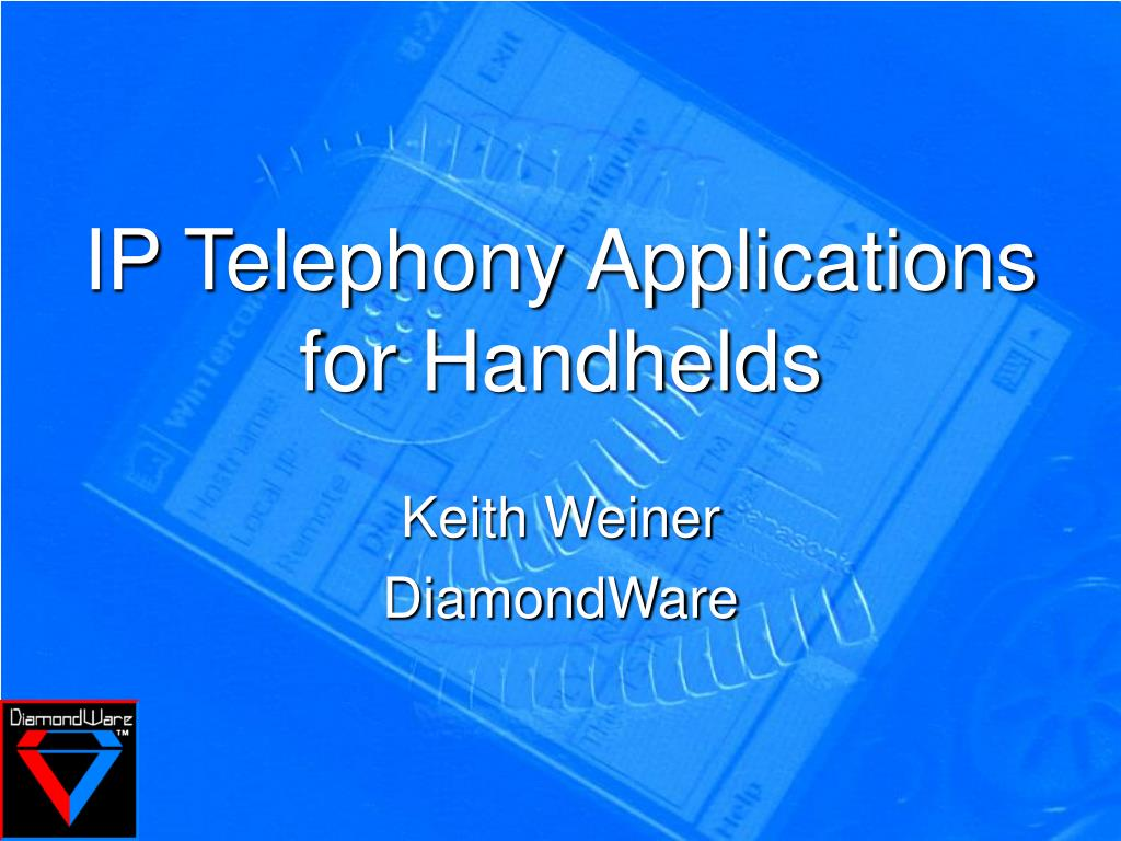 ip telephony applications for handhelds l.