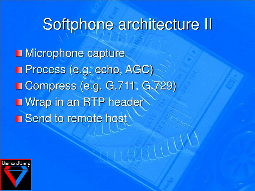 Softphone architecture II