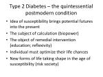 type 2 diabetes the quintessential postmodern condition