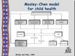 mosley chen model for child health