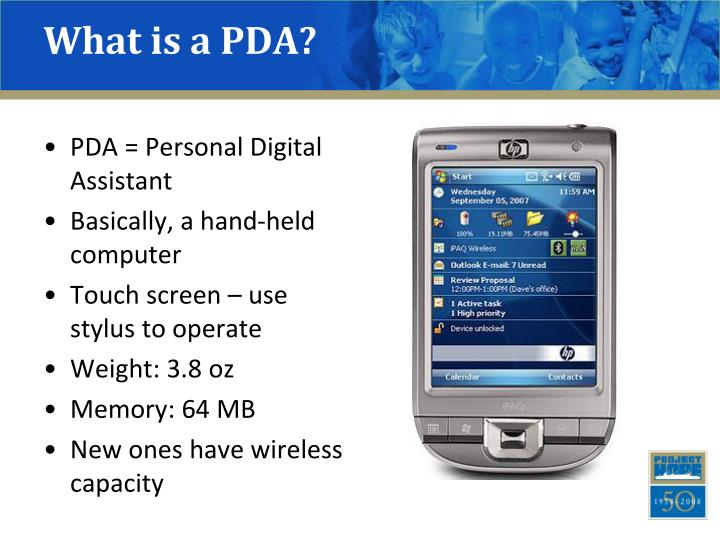 What is a pda