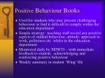 positive behaviour books