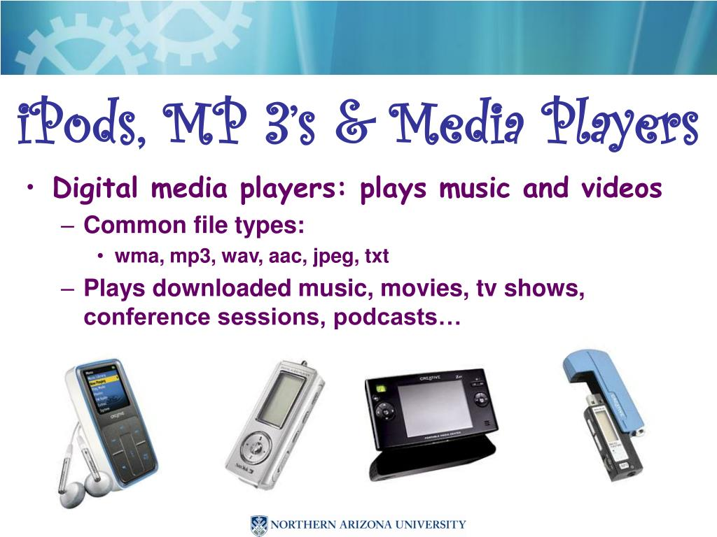 iPods, MP 3's & Media Players