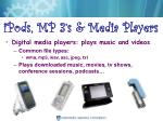 ipods mp 3 s media players
