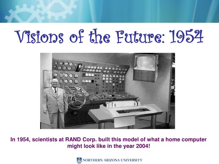 Visions of the future 1954