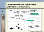 candidate real life applications with northrop grumman