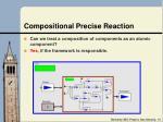 compositional precise reaction