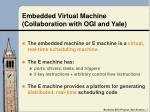 embedded virtual machine collaboration with ogi and yale