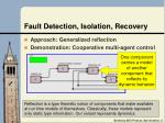 fault detection isolation recovery