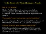 useful resources for medical education avantgo11