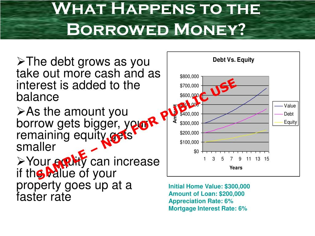 What Happens to the Borrowed Money?