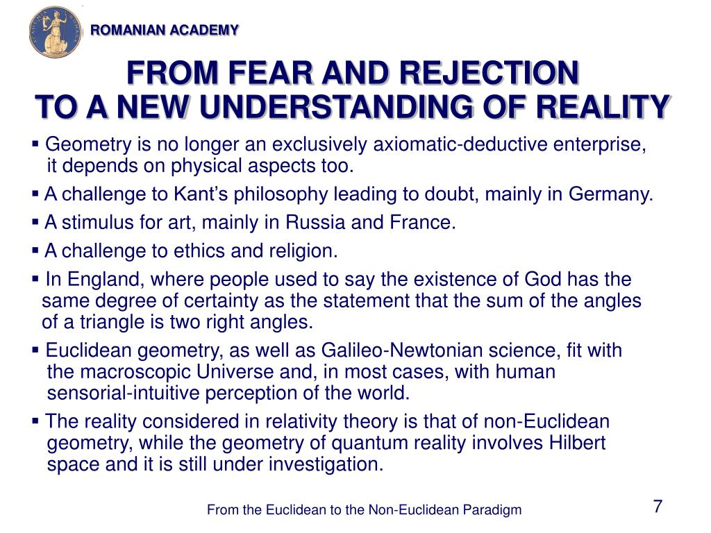 FROM FEAR AND REJECTION