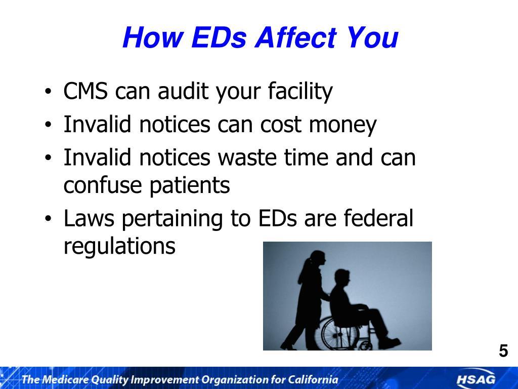 How EDs Affect You
