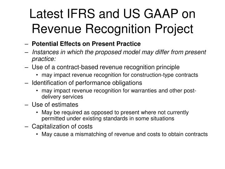 ifrs and the us gaap a comparative Similarities and differences between ifrs and us gaap: similarities and differences between ifrs and us gaap are discussed form different categorical views: 1 2012) ifrs has been affecting us companies for some timeintroduction: ifrs (international financial reporting standards) is the term used to indicate the whole body of iasb.