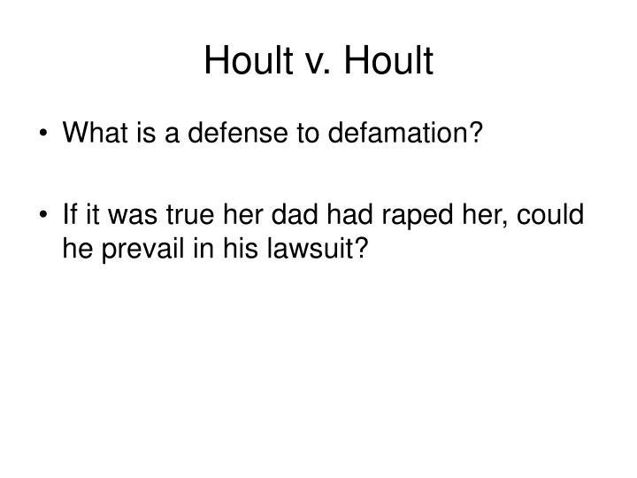 Hoult v. Hoult