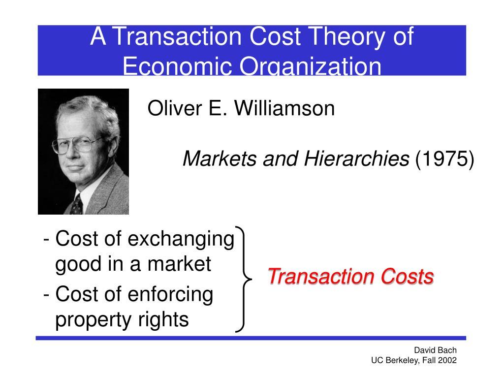 Oliver E. Williamson