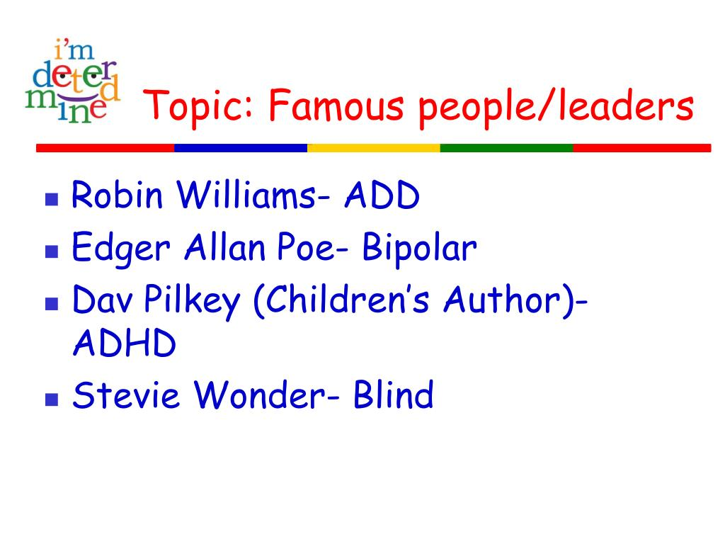 Topic: Famous people/leaders