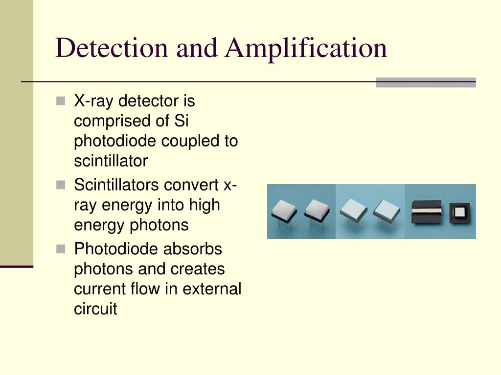 Detection and Amplification