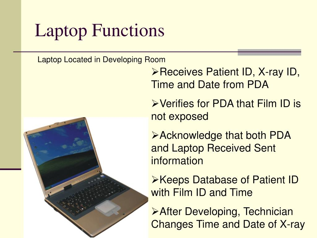 Laptop Functions