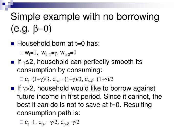 Simple example with no borrowing (e.g.