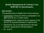quality management customer care servqual questionnaire4