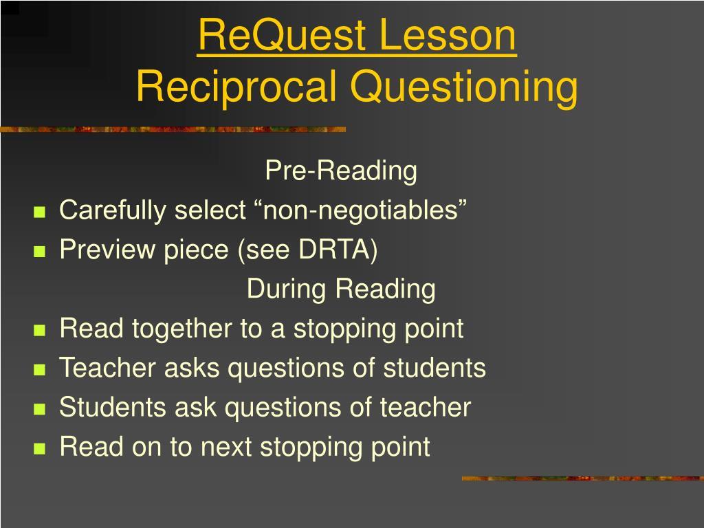 ReQuest Lesson