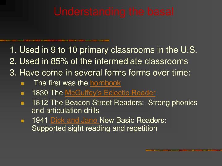 Understanding the basal