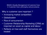 bs2914 quality management customer care 2 customer care philosophy and procedures