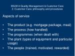 bs2914 quality management customer care 2 customer care philosophy and procedures6