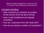 bs2914 quality management customer care 2 customer care philosophy and procedures9