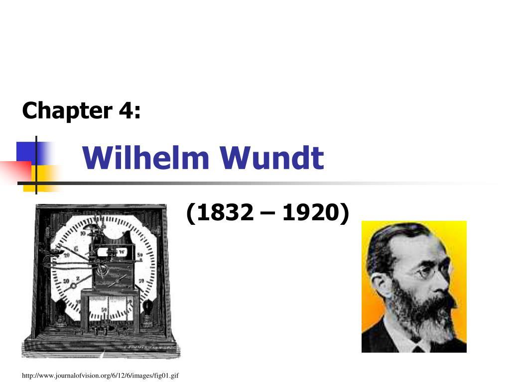 wilhelm wundt l.