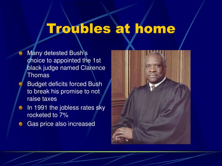 Troubles at home
