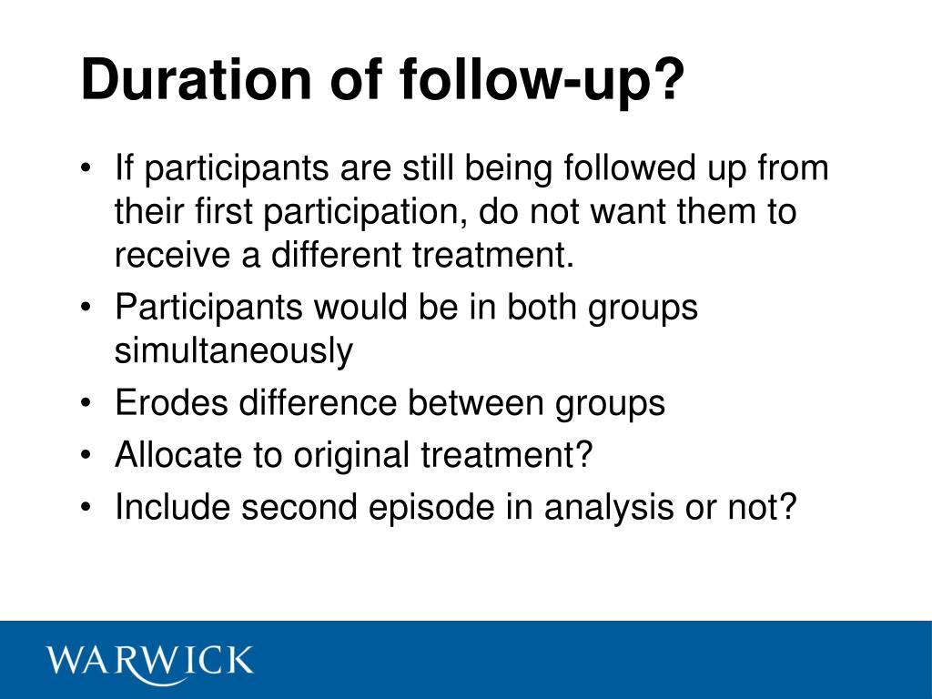 Duration of follow-up?
