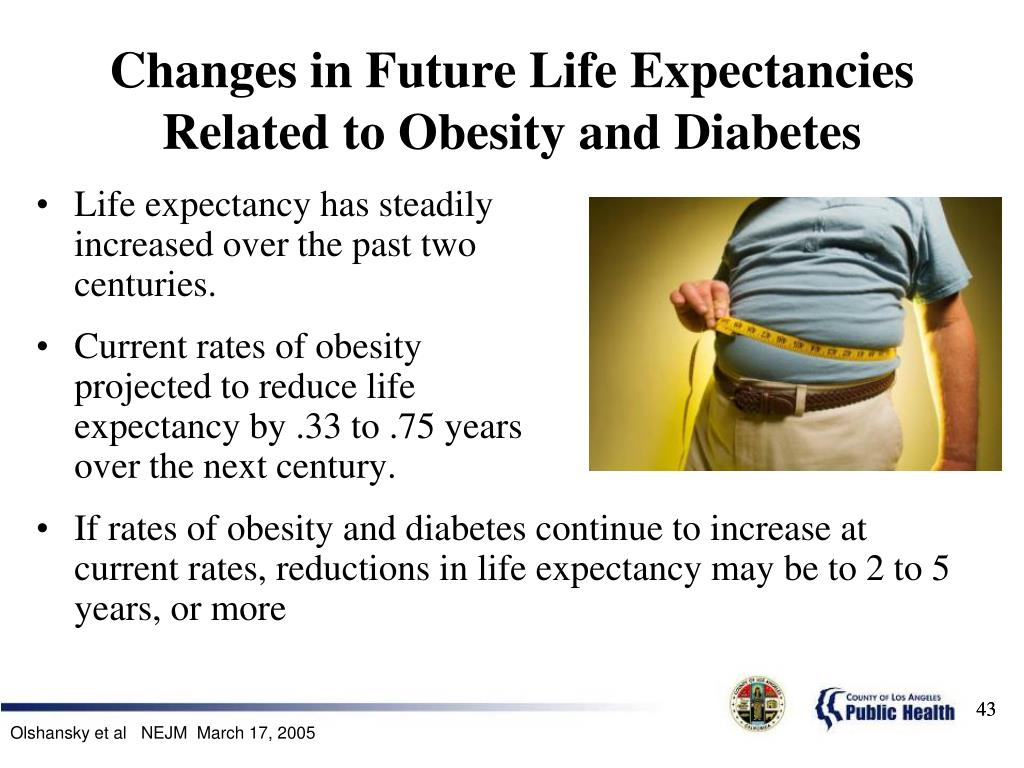 Changes in Future Life Expectancies