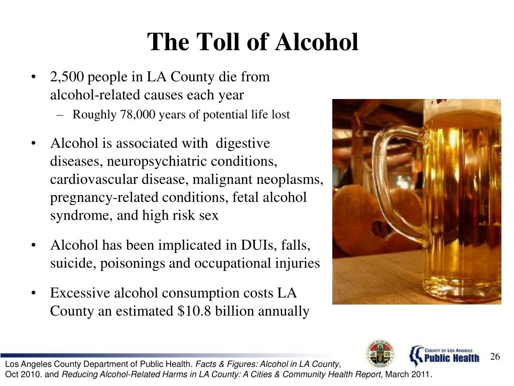The Toll of Alcohol