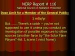 ncrp report 116 national council on radiation protection