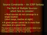 source constraints an icrp fantasy