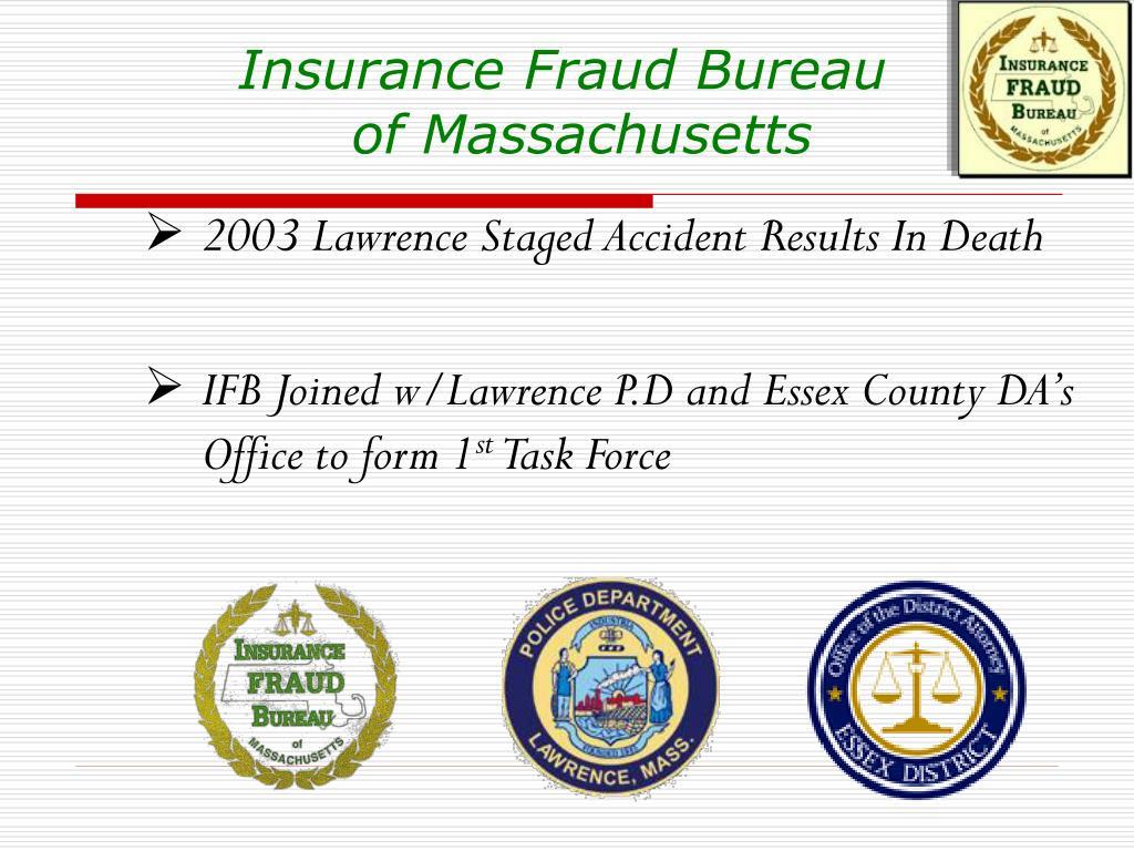 Insurance Fraud Bureau