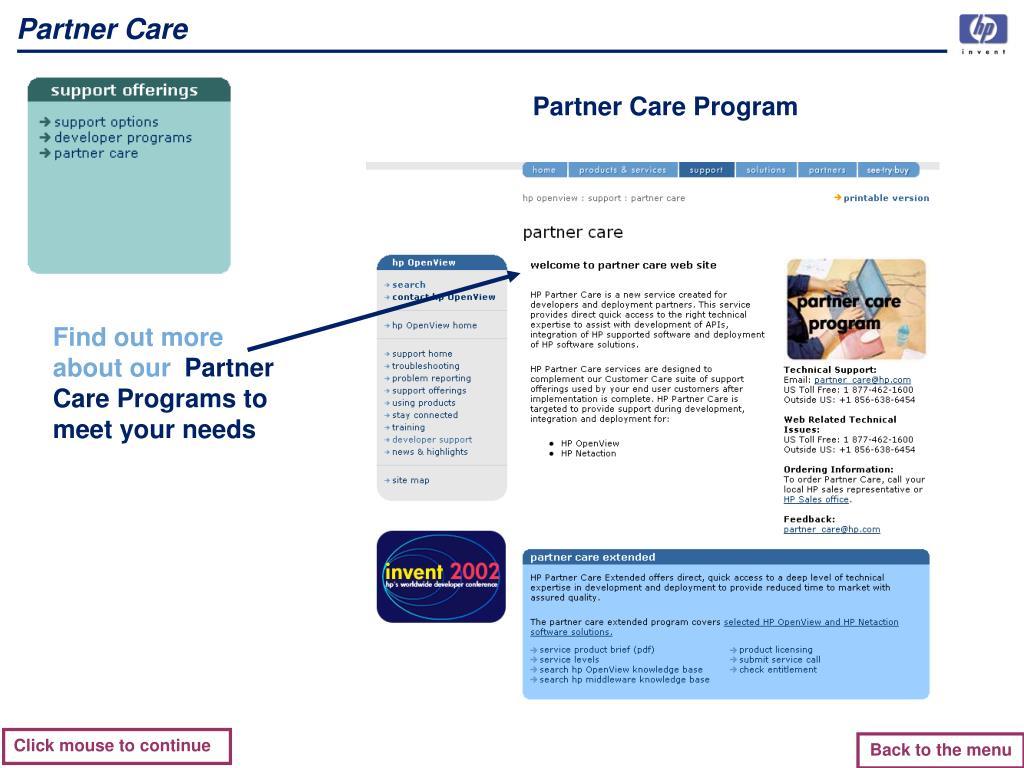 Partner Care