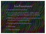 loss experiences
