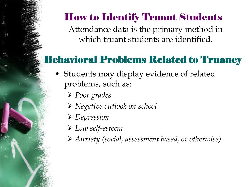 Behavioral Problems Related to Truancy
