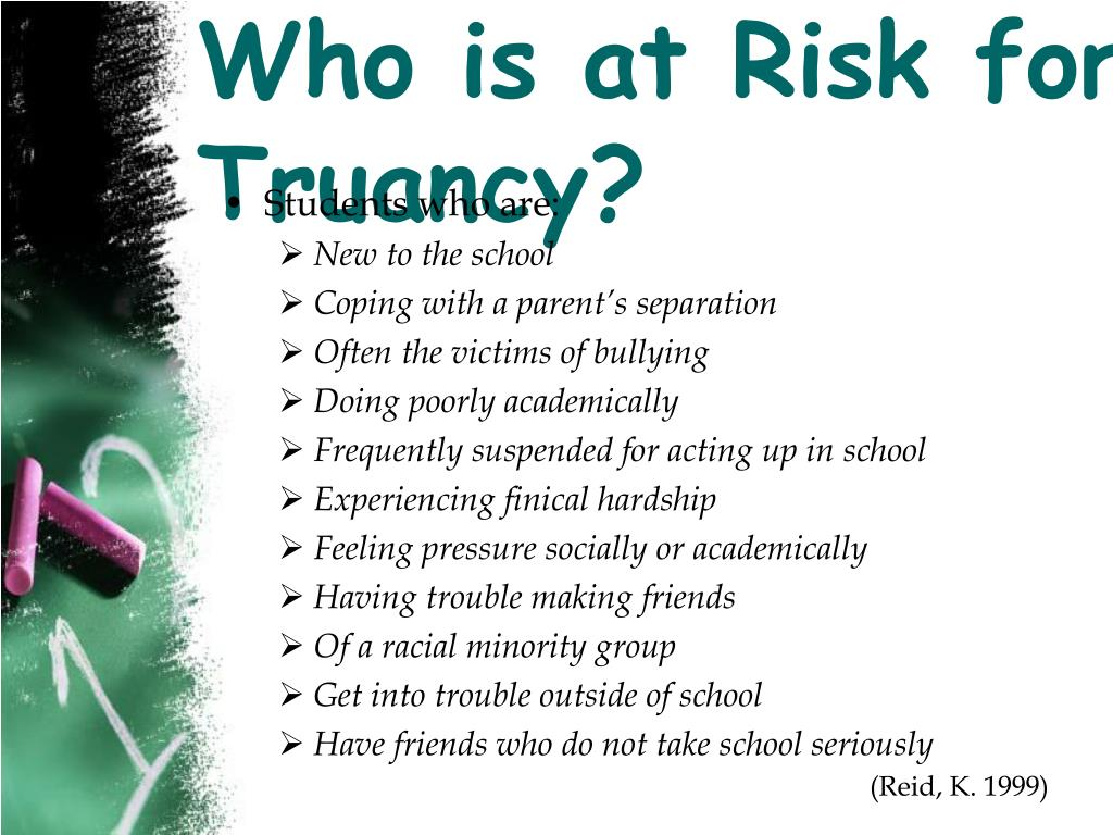 Who is at Risk for Truancy?